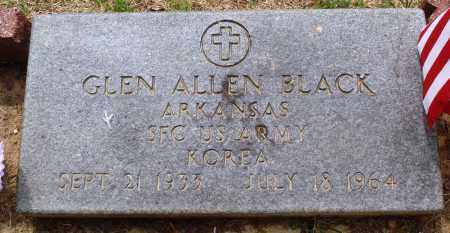 BLACK (VETERAN KOR), GLEN ALLEN - Perry County, Arkansas | GLEN ALLEN BLACK (VETERAN KOR) - Arkansas Gravestone Photos