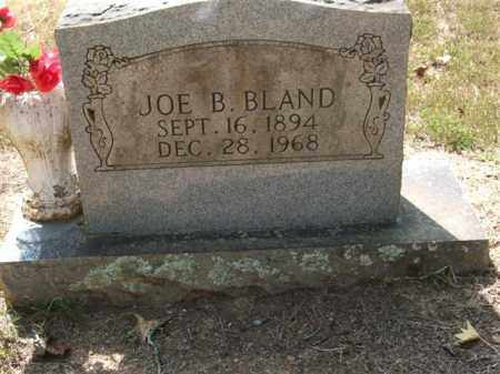 BLAND, JOE B. - Perry County, Arkansas | JOE B. BLAND - Arkansas Gravestone Photos