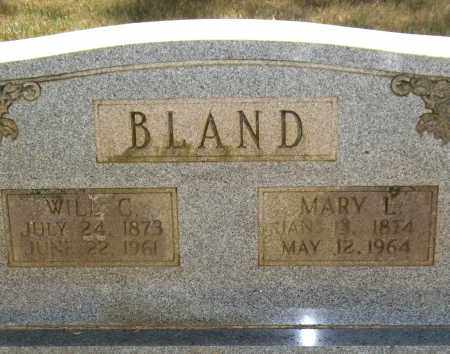 CARDEN BLAND, MARY L. - Perry County, Arkansas | MARY L. CARDEN BLAND - Arkansas Gravestone Photos