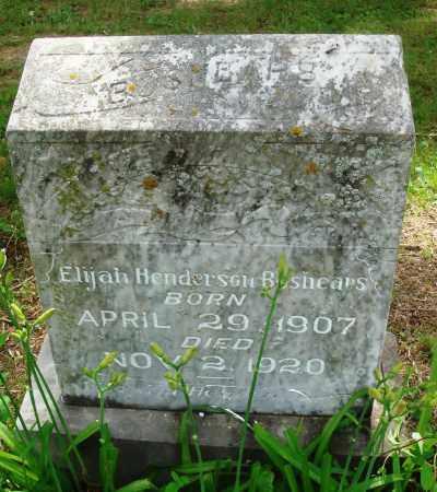 BOSHEARS, ELIJAH HENDERSON - Perry County, Arkansas | ELIJAH HENDERSON BOSHEARS - Arkansas Gravestone Photos