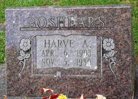 BOSHEARS, HARVE A - Perry County, Arkansas | HARVE A BOSHEARS - Arkansas Gravestone Photos