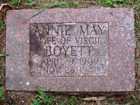 BOYETT, ANNIE MAY - Perry County, Arkansas | ANNIE MAY BOYETT - Arkansas Gravestone Photos