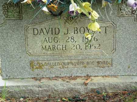 BOYETT, DAVID J - Perry County, Arkansas | DAVID J BOYETT - Arkansas Gravestone Photos