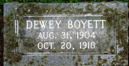 BOYETT, DEWEY - Perry County, Arkansas | DEWEY BOYETT - Arkansas Gravestone Photos