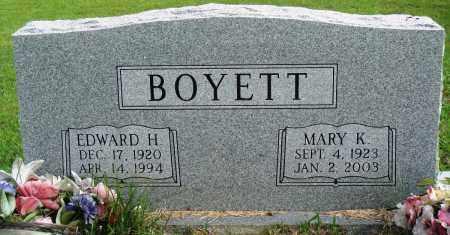 BOYETT, EDWARD HARLEY - Perry County, Arkansas | EDWARD HARLEY BOYETT - Arkansas Gravestone Photos