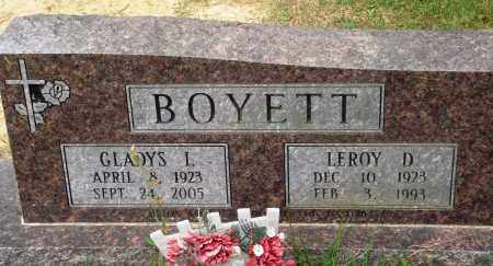 BOYETT, GLADYS I - Perry County, Arkansas | GLADYS I BOYETT - Arkansas Gravestone Photos
