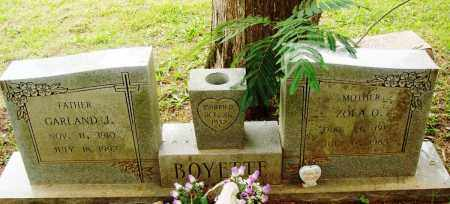 BOYETTE, ZOLA O - Perry County, Arkansas | ZOLA O BOYETTE - Arkansas Gravestone Photos