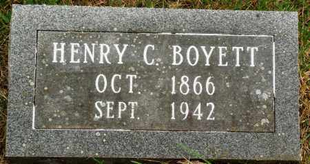 BOYETT, HENRY C - Perry County, Arkansas | HENRY C BOYETT - Arkansas Gravestone Photos