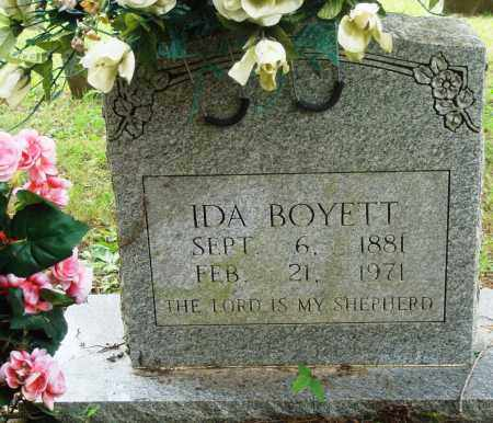 BOYETT, IDA - Perry County, Arkansas | IDA BOYETT - Arkansas Gravestone Photos