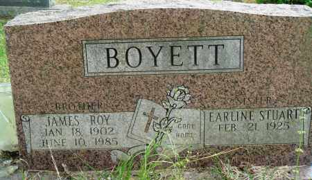 BOYETT, JAMES ROY - Perry County, Arkansas | JAMES ROY BOYETT - Arkansas Gravestone Photos