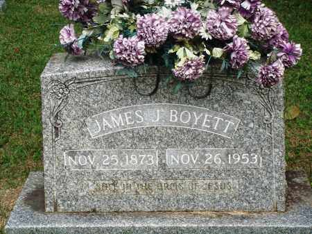 BOYETT, JAMES J - Perry County, Arkansas | JAMES J BOYETT - Arkansas Gravestone Photos