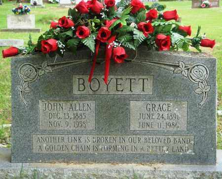 BOYETT, GRACE - Perry County, Arkansas | GRACE BOYETT - Arkansas Gravestone Photos
