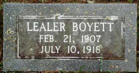 BOYETT, LEALER - Perry County, Arkansas | LEALER BOYETT - Arkansas Gravestone Photos