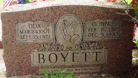 BOYETT, ODA - Perry County, Arkansas | ODA BOYETT - Arkansas Gravestone Photos