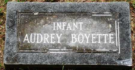 BOYETTE, AUDREY - Perry County, Arkansas | AUDREY BOYETTE - Arkansas Gravestone Photos