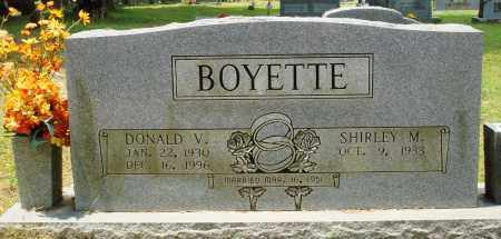 BOYETTE, DONALD V - Perry County, Arkansas | DONALD V BOYETTE - Arkansas Gravestone Photos