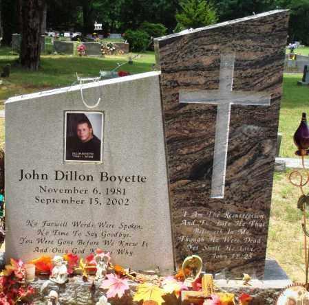 BOYETTE, JOHN DILLON - Perry County, Arkansas   JOHN DILLON BOYETTE - Arkansas Gravestone Photos