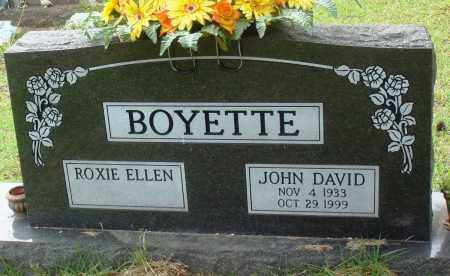 BOYETTE, JOHN DAVID - Perry County, Arkansas | JOHN DAVID BOYETTE - Arkansas Gravestone Photos