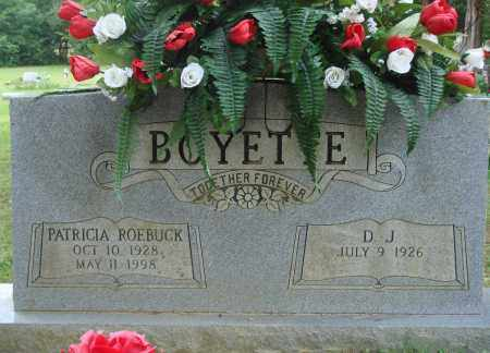 BOYETTE, PATRICIA - Perry County, Arkansas | PATRICIA BOYETTE - Arkansas Gravestone Photos