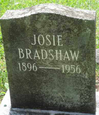BRADSHAW, JOSIE - Perry County, Arkansas | JOSIE BRADSHAW - Arkansas Gravestone Photos