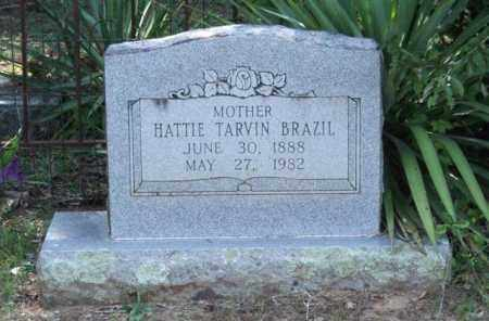 TARVIN BRAZIL, HATTIE - Perry County, Arkansas | HATTIE TARVIN BRAZIL - Arkansas Gravestone Photos