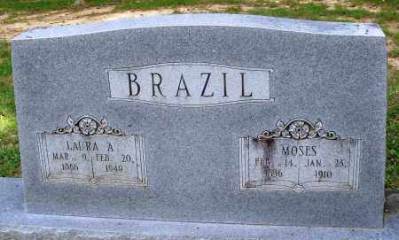 BRAZIL, MOSES - Perry County, Arkansas | MOSES BRAZIL - Arkansas Gravestone Photos