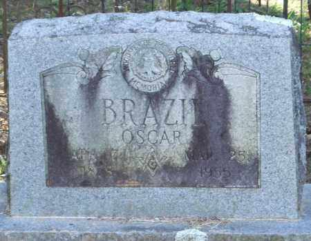 BRAZIL, OSCAR - Perry County, Arkansas | OSCAR BRAZIL - Arkansas Gravestone Photos