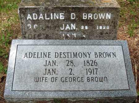 BROWN, ADELINE DESTIMONY - Perry County, Arkansas | ADELINE DESTIMONY BROWN - Arkansas Gravestone Photos