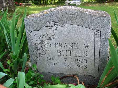 BUTLER, FRANK W - Perry County, Arkansas | FRANK W BUTLER - Arkansas Gravestone Photos