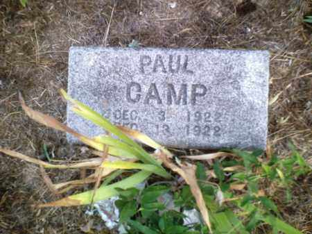 CAMP, PAUL - Perry County, Arkansas | PAUL CAMP - Arkansas Gravestone Photos