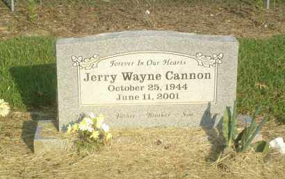 CANNON, JERRY WAYNE - Perry County, Arkansas | JERRY WAYNE CANNON - Arkansas Gravestone Photos