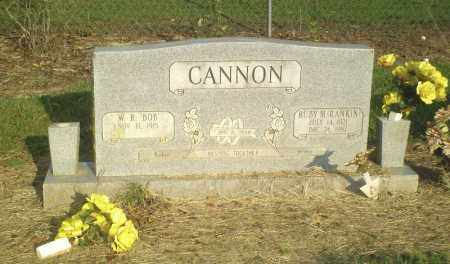 RANKIN CANNON, RUBY M. - Perry County, Arkansas | RUBY M. RANKIN CANNON - Arkansas Gravestone Photos