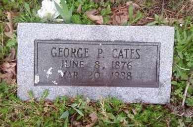 CATES, GEORGE P. - Perry County, Arkansas | GEORGE P. CATES - Arkansas Gravestone Photos