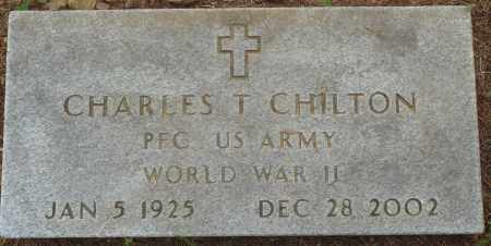 CHILTON (VETERAN WWII), CHARLES T - Perry County, Arkansas | CHARLES T CHILTON (VETERAN WWII) - Arkansas Gravestone Photos