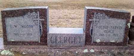 "CLERGET, I. W. ""WOODY"" - Perry County, Arkansas 