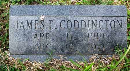 CODDINGTON, JAMES E - Perry County, Arkansas | JAMES E CODDINGTON - Arkansas Gravestone Photos