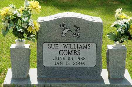 WILLIAMS COMBS, SUE - Perry County, Arkansas | SUE WILLIAMS COMBS - Arkansas Gravestone Photos