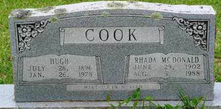 COOK, HUGH - Perry County, Arkansas | HUGH COOK - Arkansas Gravestone Photos