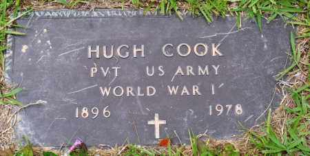 COOK (VETERAN WWI), HUGH - Perry County, Arkansas | HUGH COOK (VETERAN WWI) - Arkansas Gravestone Photos
