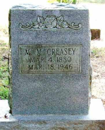CREASEY, M. M. - Perry County, Arkansas | M. M. CREASEY - Arkansas Gravestone Photos