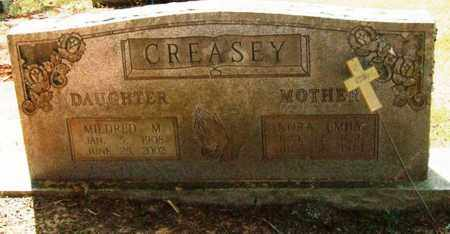 CREASEY, NORA EMILY - Perry County, Arkansas | NORA EMILY CREASEY - Arkansas Gravestone Photos