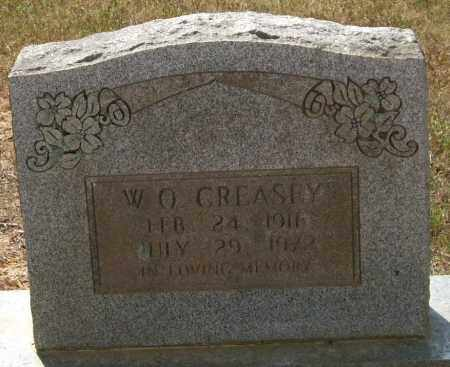 CREASEY, W. O. - Perry County, Arkansas | W. O. CREASEY - Arkansas Gravestone Photos
