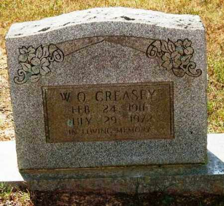 CREASEY, WILBERT O. - Perry County, Arkansas | WILBERT O. CREASEY - Arkansas Gravestone Photos