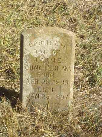 CUNNINGHAM, CORDELIA - Perry County, Arkansas | CORDELIA CUNNINGHAM - Arkansas Gravestone Photos