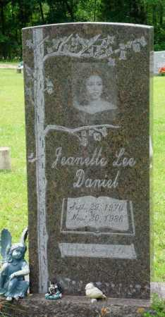 DANIEL, JEANETTE LEE - Perry County, Arkansas | JEANETTE LEE DANIEL - Arkansas Gravestone Photos