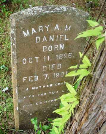 DANIEL, MARY A. M. - Perry County, Arkansas | MARY A. M. DANIEL - Arkansas Gravestone Photos