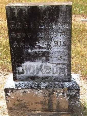 BLAND DICKSON, ROSA - Perry County, Arkansas | ROSA BLAND DICKSON - Arkansas Gravestone Photos