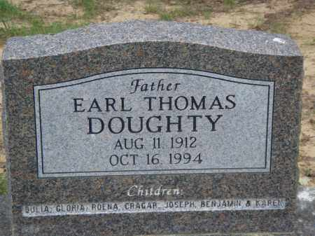DOUGHTY, EARL THOMAS - Perry County, Arkansas | EARL THOMAS DOUGHTY - Arkansas Gravestone Photos