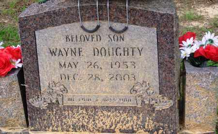 DOUGHTY, WAYNE - Perry County, Arkansas | WAYNE DOUGHTY - Arkansas Gravestone Photos