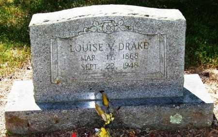 DRAKE, LOUISE V. - Perry County, Arkansas | LOUISE V. DRAKE - Arkansas Gravestone Photos